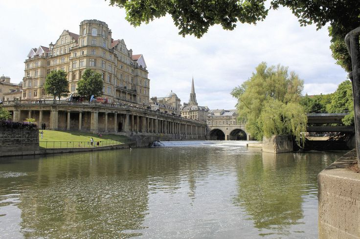 Bath - Get there via First Great Western train from Paddington, 2 hours 30 minutes, from £30 return. Have a bite at The Riverside Cafe for a crowd-pleasing menu and stunning view of Pulteney Weir. Make sure to see the Roman Baths. The city doesn't get its name for nothing - this well-preserved underground landmark has history dating back to its discovery in 836 BC.