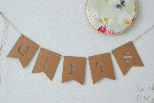 Bruiloft Slinger Gifts