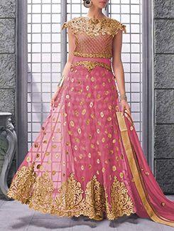 Buy Fabliva pink net  Online, , LimeRoad