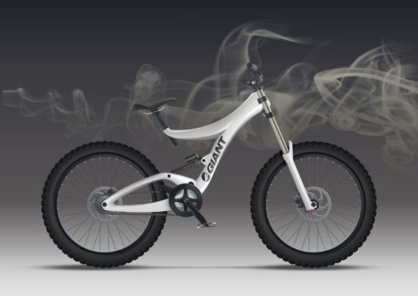 Elegant All-Terrain Bikes - The Downhill Mountain Bike is a Futuristic Expression of Sports Cycles (GALLERY)  Please follow us @ http://www.pinterest.com/wocycling/