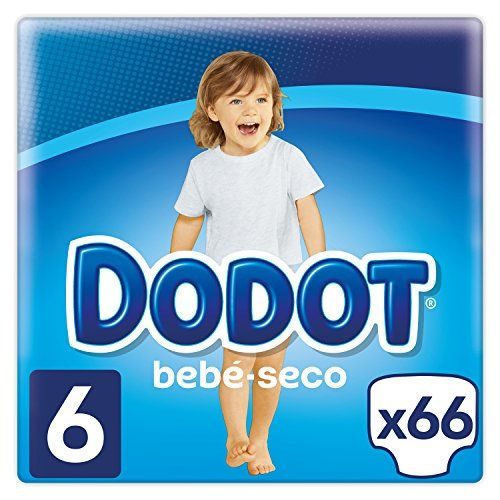 Dodot Pañales con Canales de Aire Bebé-Seco para Bebés, Talla 6 (13+ kg) - 66 Pañales #Dodot #Pañales #Canales #Aire #Bebé #Seco #para #Bebés, #Talla