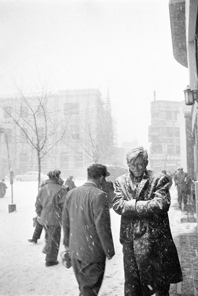 Snowfall, Seoul, South Korea, 1956-63, photograph by Han Youngsoo.