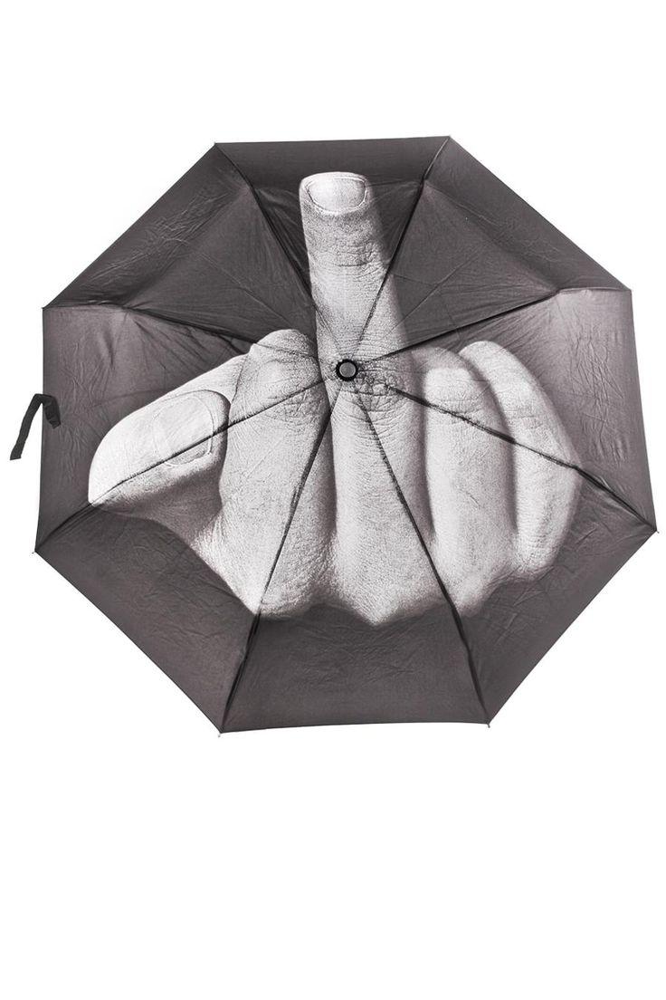 Art. Lebedev Studio F#$% the Rain Umbrella