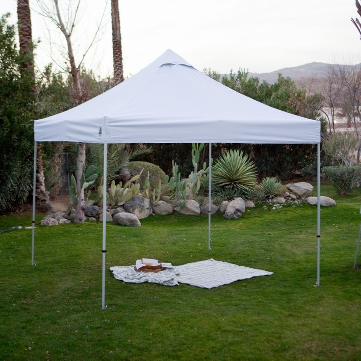 Have to have it. UnderCover 10 x 10 Super Lightweight Aluminum Instant Canopy - $189.99 @hayneedle