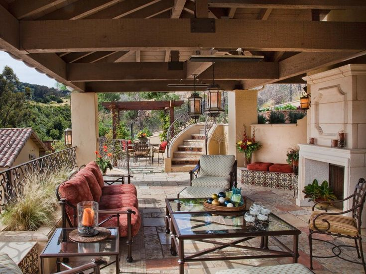 15 Outdoor Rooms For Entertaining