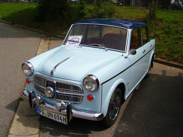 My First Car that I bought myself  1962 Four Door Fiat  (4 speed on the column)