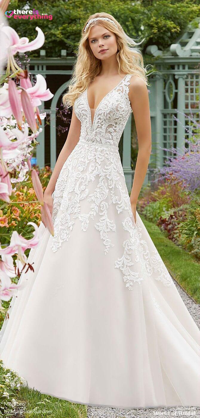 Mori Lee By Madeline Gardner Spring 2019 Secret Garden Wedding Dresses There Is Everything Mori Lee Wedding Dress Garden Wedding Dresses Ball Gown Wedding Dress