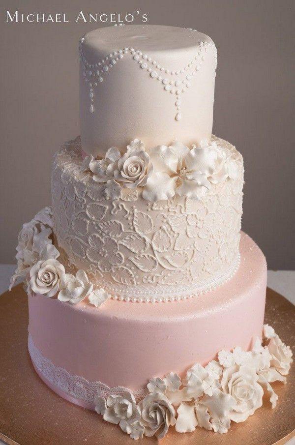20 Simple Elegant Vintage Wedding Cakes Roses Rings Part 2 Wedding Cakes Vintage Quinceanera Cakes Wedding Cupcakes