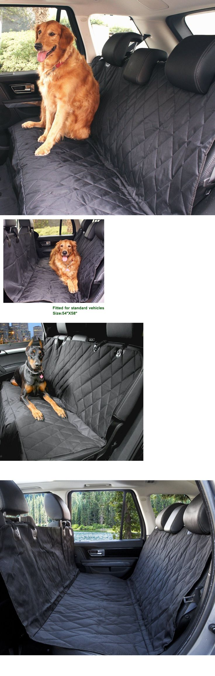 Car Seat Covers 117426: Oxgord Pet Car Suv Van Back Rear Bench Seat Cover Waterproof Hammock For Dog Cat BUY IT NOW ONLY: $30.77