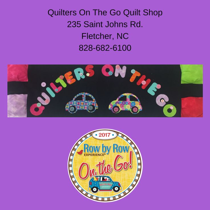 Quilters on the Go Quilt Shop - Fletcher NC