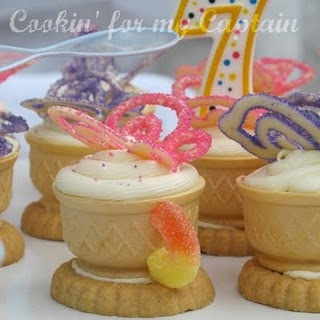 I want to make these for my little girl's next birthday party! So cute!