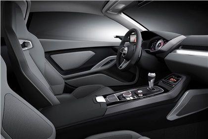 Audi Nanuk quattro (ItalDesign), 2013 - Interior