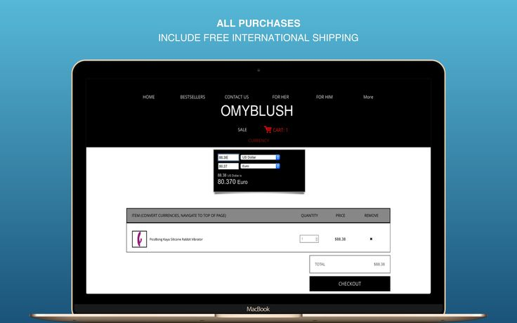 ALL PURCHASES MADE ON www.omyblush.com  INCLUDE FREE INTERNATIONAL SHIPPING