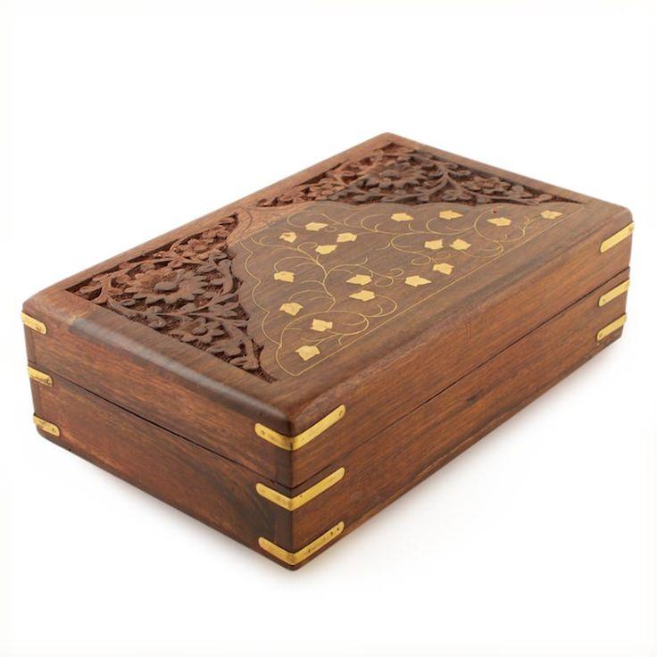 Decorative Jewelry Boxes Ideas : Best wooden box designs ideas on putao