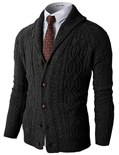 H2H Men's Shawl Collar Twist Patterned Cardigan Sweater With Pocket CHARCOAL US M/Asia L (KMOCAL0101) H2H http://www.amazon.com/dp/B00O0M4870/ref=cm_sw_r_pi_dp_vOwKub1BDFJTB