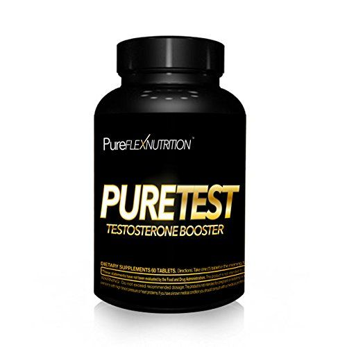 1 Testosterone Booster  PureFlex Nutrition  PureTEST  60 Tablets MADE IN THE USA  100 MONEY BACK GUARANTEE * Click image to review more details.