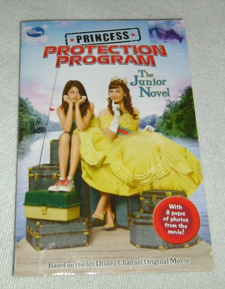 Book. Disney Channel... Princess Protection Program: The Junior Novel, ©2009, Published by Disney Press, 1st edition, ISBN 978-142312090-2, paperback, 140 pages, fair condition-some slight folding/imperfections to front cover, clean text