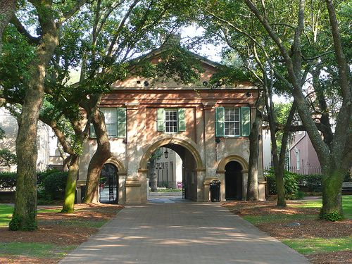 Charleston, SC College of Charleston Gate Lodge