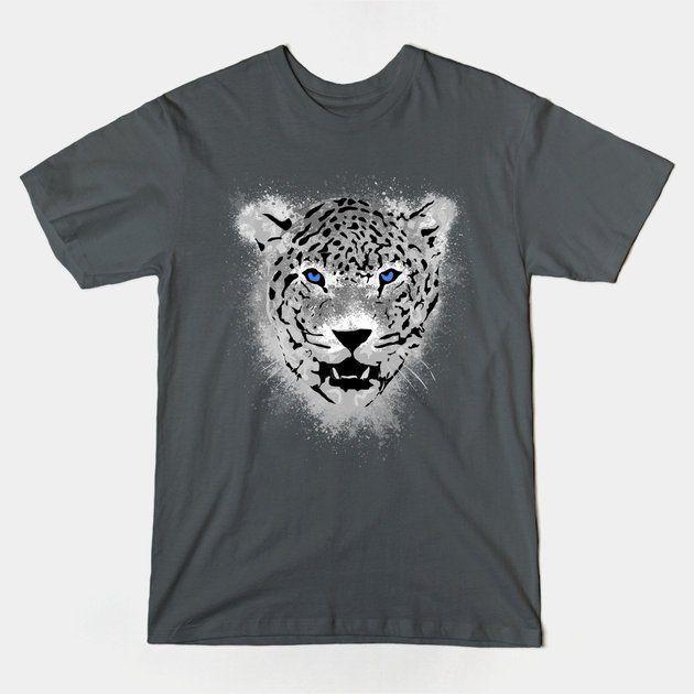 White Tiger - Paint Splatters Tshirt