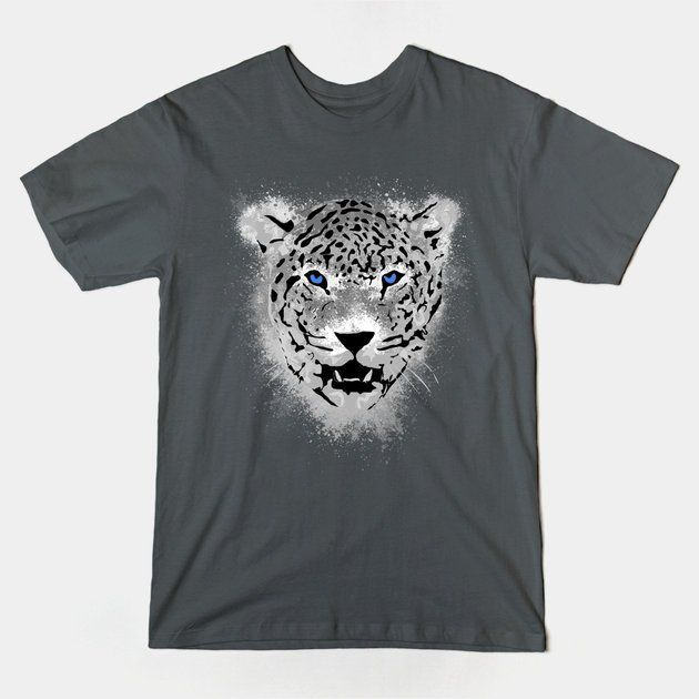 White Tiger - Paint Splatters Tshirt