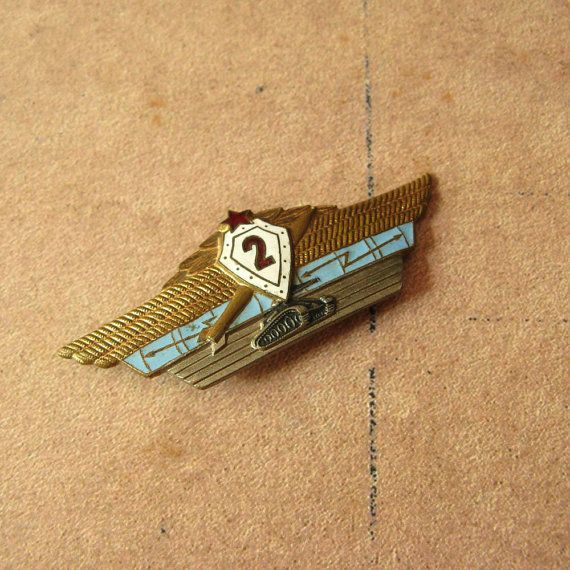 Soviet Military Pin, Officers Pin, USSR Army Prize, Vintage Badge, USSR Officers…
