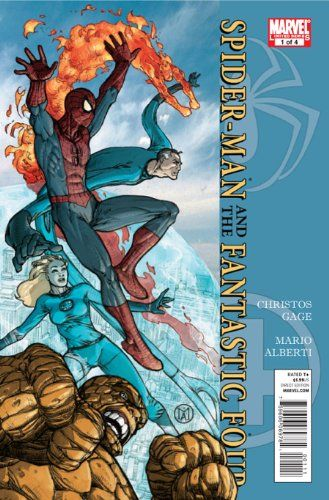 Spider-Man / Fantastic Four #1 @ niftywarehouse.com #NiftyWarehouse #Spiderman #Marvel #ComicBooks #TheAvengers #Avengers #Comics