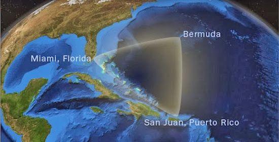Cientistas italianos acreditam que a verdadeira causa da falha do Triângulo das Bermudas está localizada no espaço.