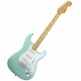 Fender Tom DeLonge Strat guitar is perfect for alternative and pop punk, peoples play hardcore with it. It can pretty much do anything that needs gain.