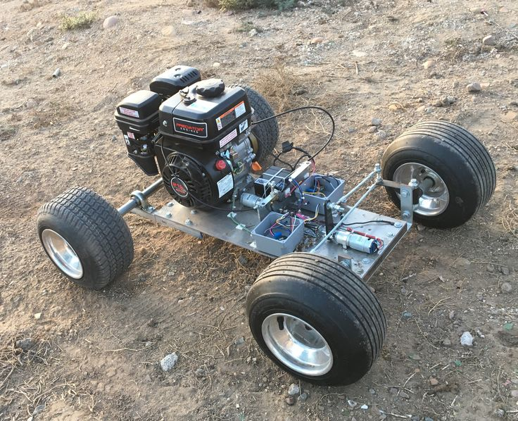 Project - 212cc GIant RC Car