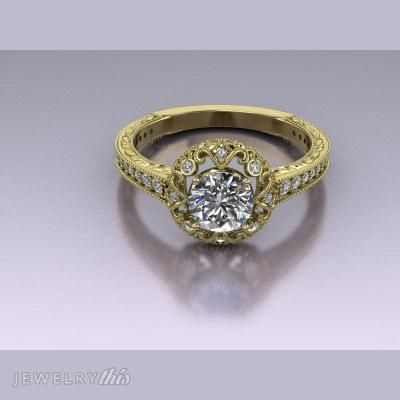 214 best 3D Jewelry Ring Designs images on Pinterest Ring