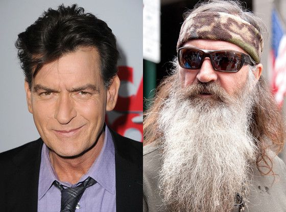 Charlie Sheen's Twitter rant at Phil Robertson following anti-gay remarks