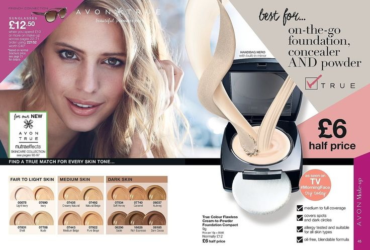 On the go foundation concealer and powder! £6