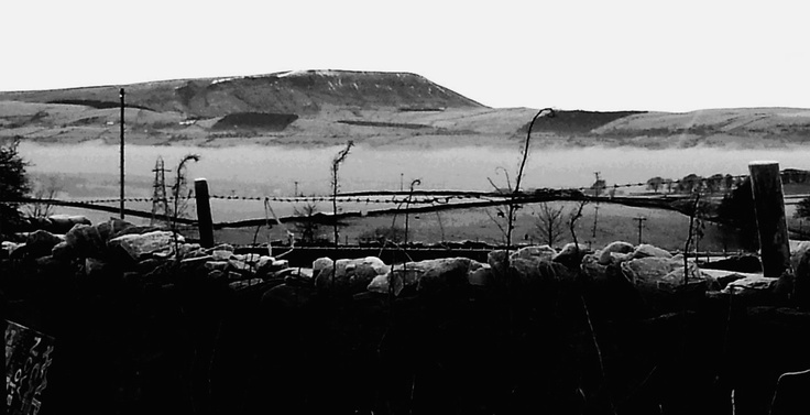 Frosty Pendle Hill 2012