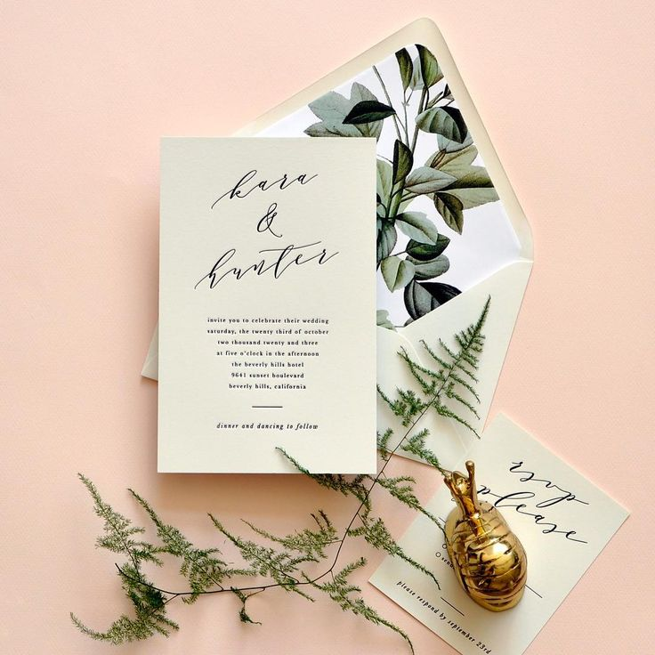 Our new luxe wedding line of foil and letterpress invites will be in stores this summer and we can't wait... Kara is one of our favorites! #smittenpapergoods