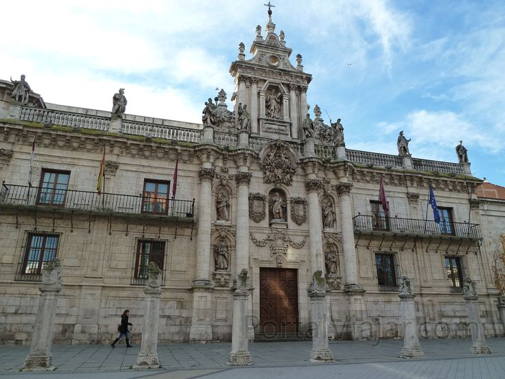Universidad de Valladolid This is where my grandfather studied in Spain
