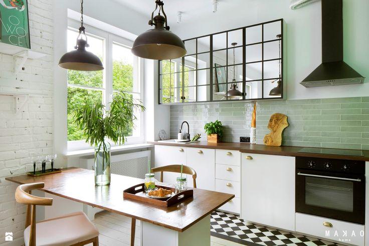 Wystrój wnętrz - Kuchnia - styl Vintage. Projekty i aranżacje najlepszych designerów. Prawdziwe inspiracje dla każdego, dla kogo liczy się dobry gust i nieprzeciętne rozwiązania w nowoczesnym projektowaniu i dekorowaniu wnętrz. Obejrzyj zdjęcia!