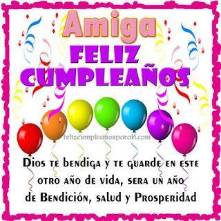 Top 20 Feliz Cumpleaños Amiga