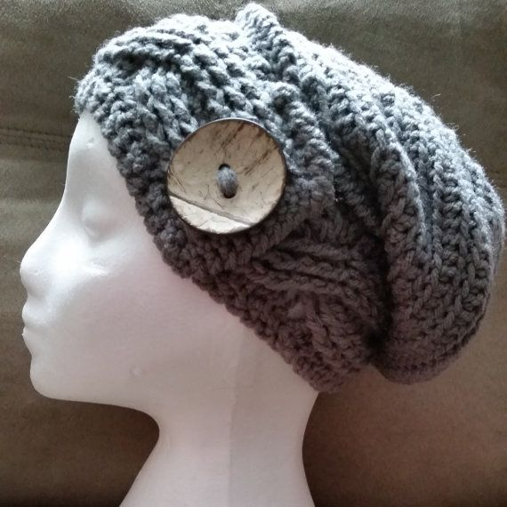 Hey, I found this really awesome Etsy listing at https://www.etsy.com/ca/listing/311186535/crochet-slouchy-hat-beanie-slouch-hat