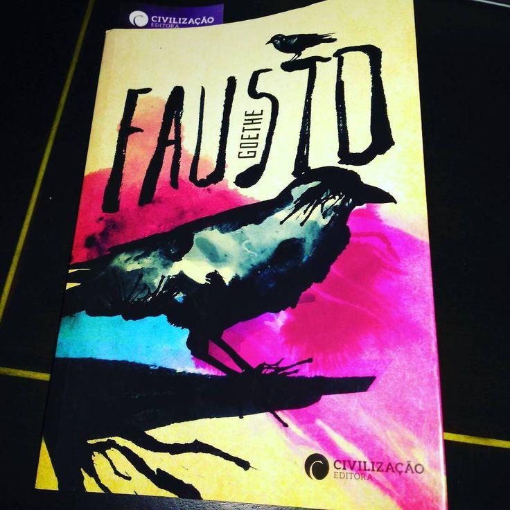 """:) Fausto de Goethe #bookstagram"""