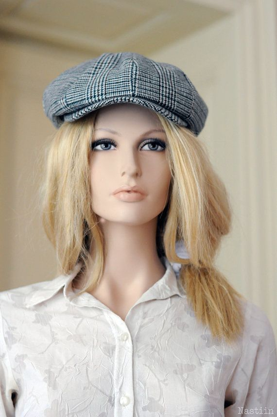 This stylish unisex newsboy hat was inspired by Brian Johnson hat from AC DC. It…