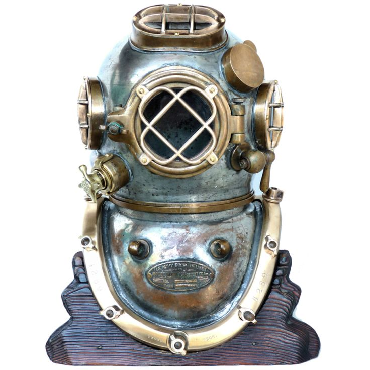 RARE 1942 MORSE NAVY MK V DIVING HELMET NEAR FULLY TINNED, Very rare, because of its tinning, 12 bolt, 4 light Morse Navy MK V diving helmet that was made in 1942, six months after the attack on Pearl Harbor.