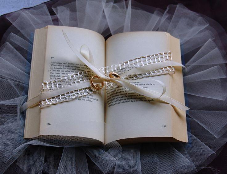 portafedi libro (impronte sulle nuvole)