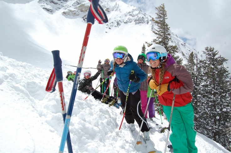 Keely Kelleher's ski camp for girls looks like such a blast! Check out some of the girls' favorite moments (& great pics!) from Snowbird Big Mountain Camp 2012...