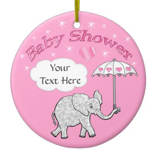 30 best elephant baby gifts images on pinterest elephant baby its raining hearts and sparkles on this baby elephant baby shower keepsake ornament personalized with negle Image collections