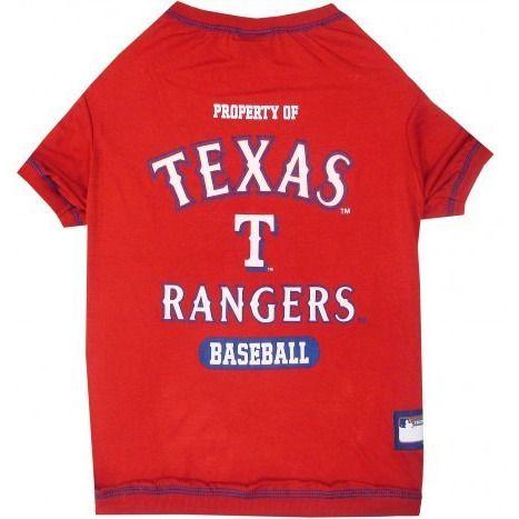 Texas Rangers Dog T-Shirt