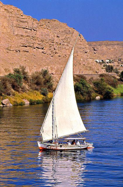 :::: PINTEREST.COM christiancross :::: Egypt down the Nile