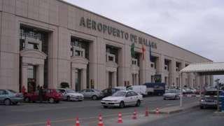 Semi-naked British man found dead outside Malaga airport