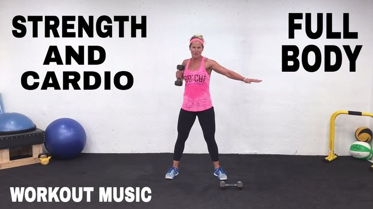 28 Minute Workout, Full Body Toning Strength and Cardio Workout, Fat Burning Workout for men + Women - YouTube