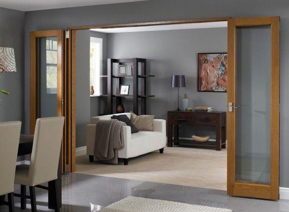 fully open inspire internal 2 4m 8ft room divider doors vufold