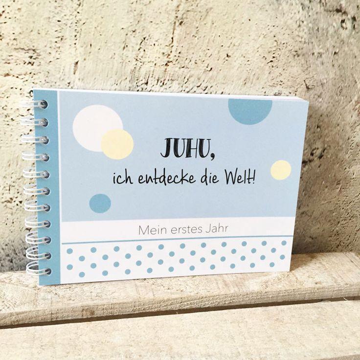 Schönes Erinnerungsbuch ans kostbare, erste Jahr!